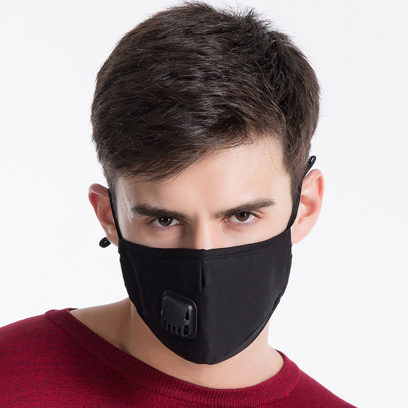 Newly 1 Pcs Mouth Face Mask Cotton Dustproof Breathable PM2.5 For Outdoor Cycling Winter IR-ing