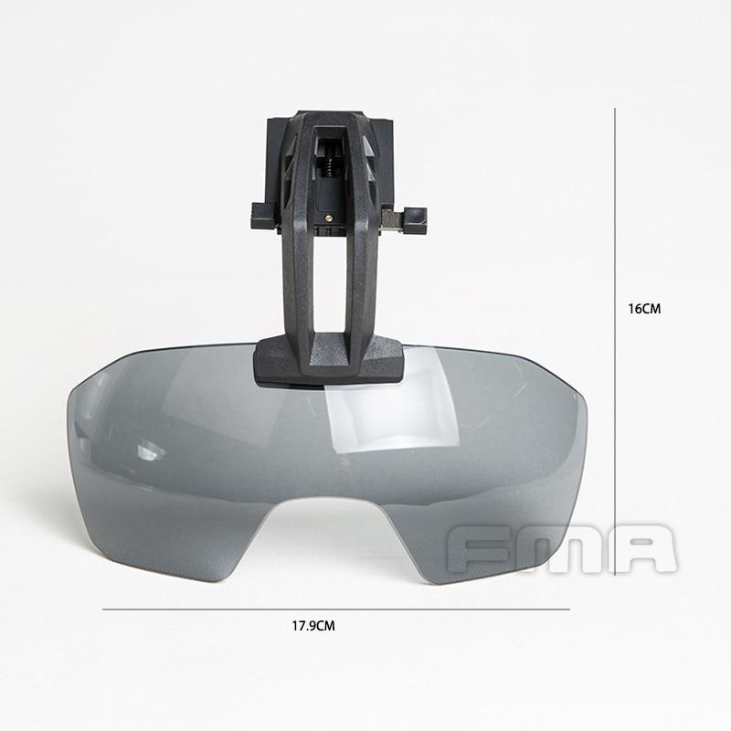 Ultimate DealÅTactical-Goggles Helmet for Clear Batlsking Viper-Visor 3mm Thick Anti-Fog-Lenses-1361