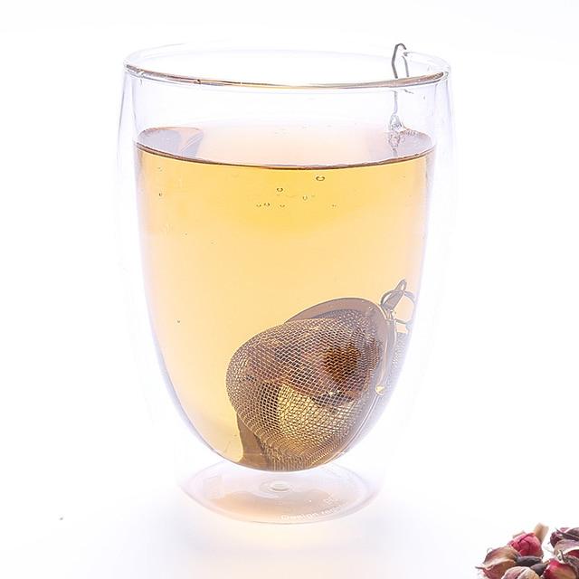 Infuseur à thé en acier inoxydable, 5 tailles 3