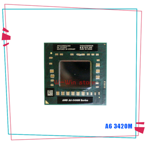 AMD A6-Series A6-3420M A6 3420M 1.5 GHz Quad-Core Quad-Thread CPU Processor AM3420DDX43GX Socket FS1