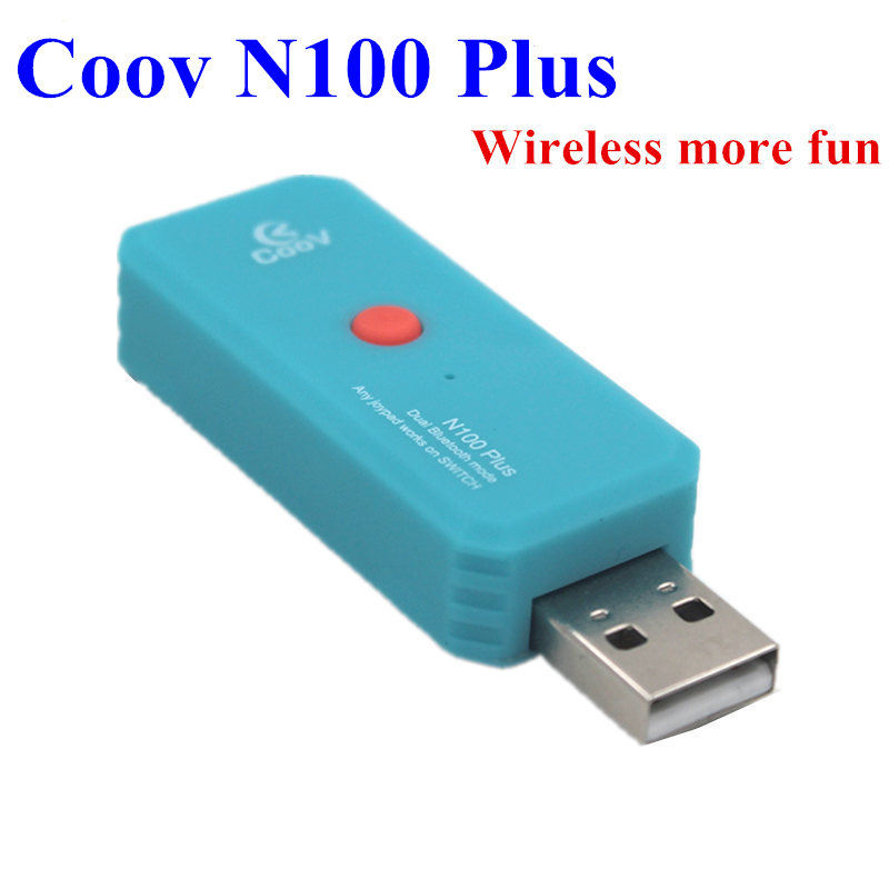 Coov N100 for Switch Pro/XboxOne PS4 wireless Wired controller Converter Adapter to PC Nintend Switch Wireless GamePad Joystick(China)