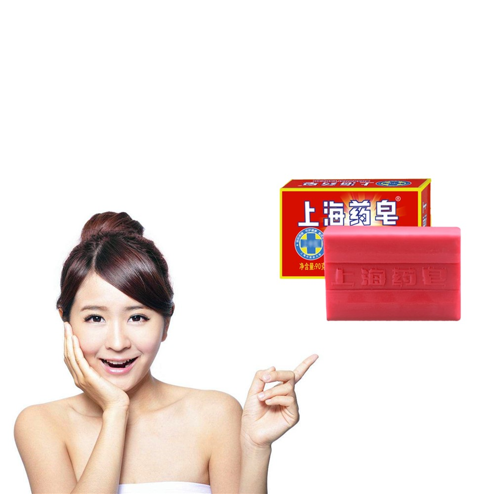 Chinese Medicine Sulfur Soap. Powerfully Clean The Skin. Soap For The Treatment Of Psoriasis Acne. Fungal Dermatitis Bath Soap