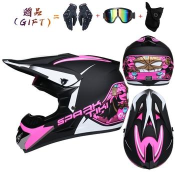 Motor Bike Cross Racing Motorcycle Helmet Safety Enduro Capacete Motorrad Cascos Downhill Bicycle Engine Cafe Racer ATV Helmets 23