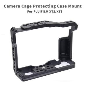 Image 1 - X T3 Aluminum Alloy Camera Video Cage for Fujifilm XT 2 X T3 DSLR Camera Cage Stabilizer Rig Protective Case Cover