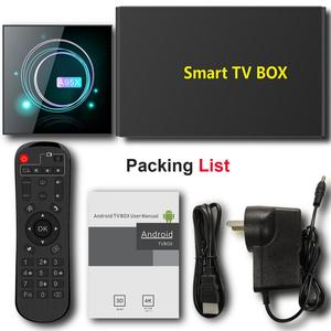 Image 5 - Smart TV Box Android 9.0 A95XF3 Amlogic S905X3 4GB 32GB 64GB 8K HD 2.4/5.0G WiFi Google Media Player Android TV Box A95X F3 Slim