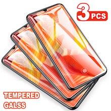 Закаленное стекло 3-1 шт. для Huawei P30 Nova 5 5i 5T 6 Honor 9X 20 20S Lite Pro, Защита экрана для Mate 30 20, защитная пленка
