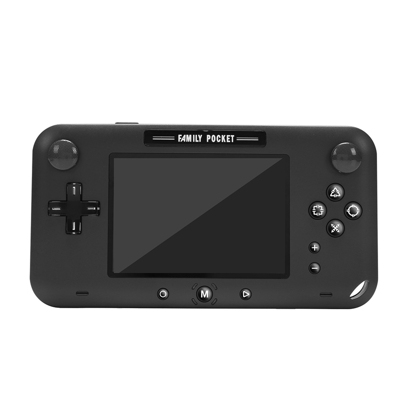 4 Inch Retro Game Console Portable Video Game Handheld for 208 Nes Games AV Out Rechargeable