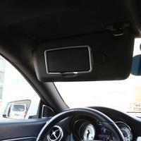 ABS Chrome Car Interior Make Up Mirror Decoration Trim for Mercedes Benz A B C S Class CLA GLA GLC GLE GL ML GLS GLK