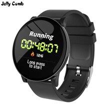 Jelly Comb Smart Watch Men Women Bluetooth Watch Smart  IP67 waterproof smartwatch Android heart rate monitor fitness tracker
