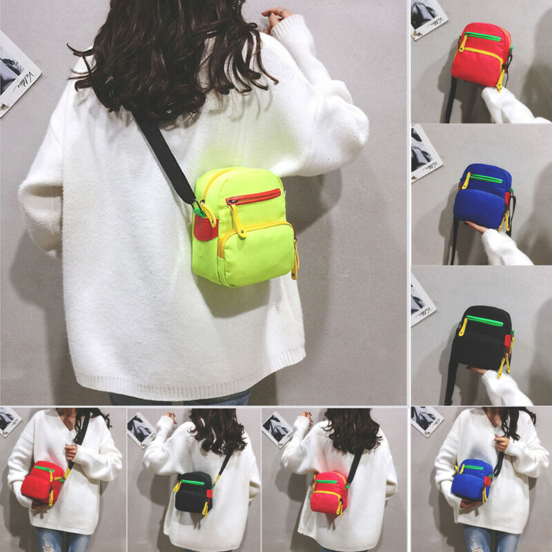 2020 Stylish Women Bags Mini Small Messenger Cross Body Handbag Shoulder Bag Purse Canvas Travel Purse Satchel Handbag