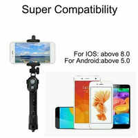 New Portable 3 in 1 Wireless Bluetooth Selfie Stick + Mini Selfie Tripod With Remote Control For Mobile Phone