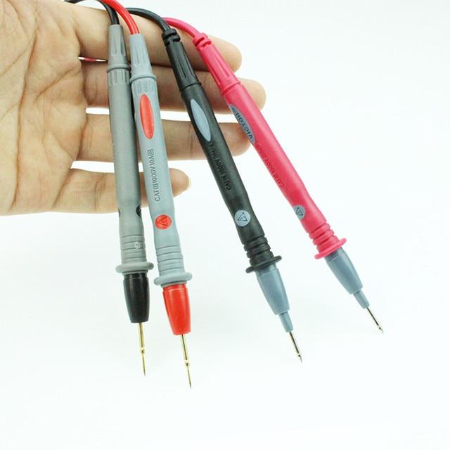 قلم اختبار متعدد عالمي سلك خط نحاس طرف ناعم للغاية 1000 فولت 20A طول 1.1 متر