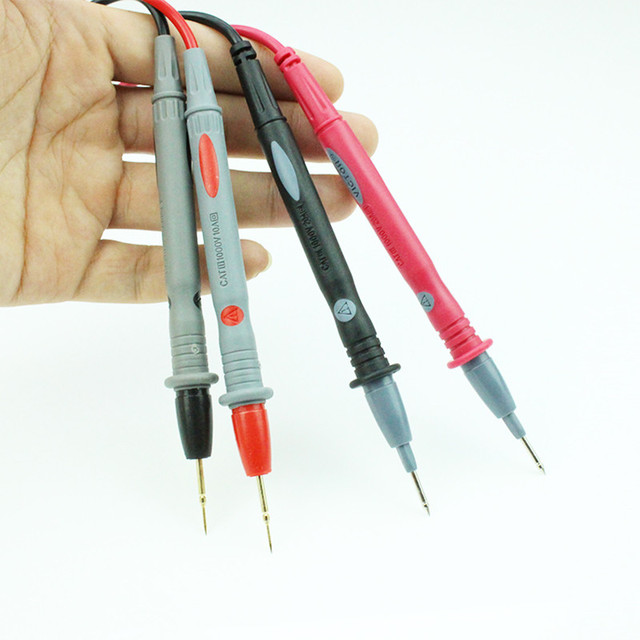 אוניברסלי מודד בודק עט חוט קו נחושת נוסף בסדר טיפ 1000V 20A אורך 1.1 מטר