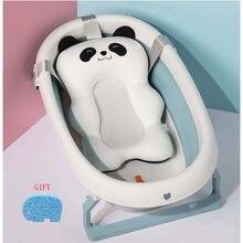 Портативная детская подушка для ванной Нескользящая коврик душа
