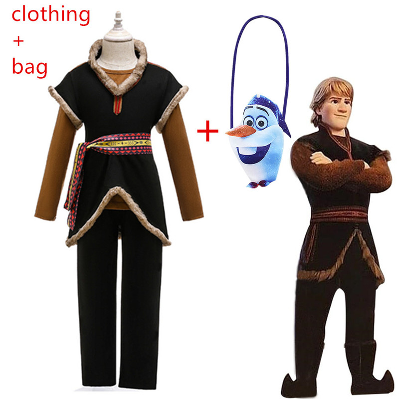 Snow Queen 2 Boys Girls Kristoff Cosplay Halloween Costume Child Christmas Children Gowns Infant Chrismas Kids Holiday Clothes
