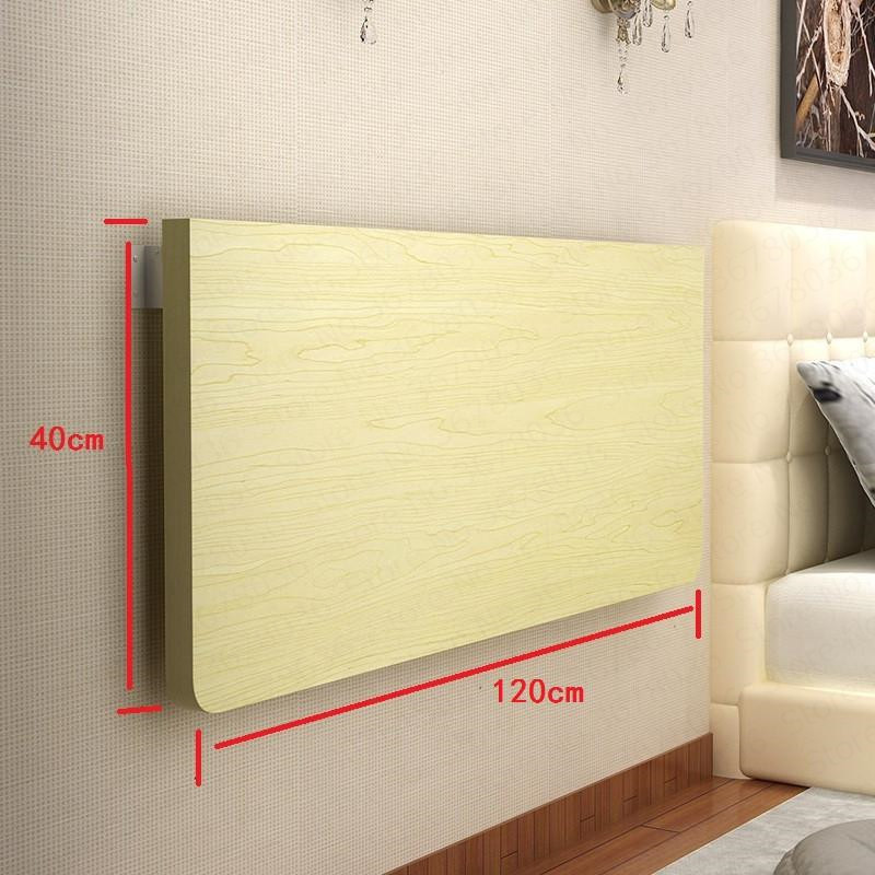 Household Simple Wall Table Folding Table Dining Table Wall Hanging Wall Computer Desk Desk Wall Table|Laptop Desks| |  - title=