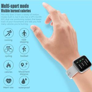 Image 3 - Cobrafly P6 Smart Watch Women Men pk P68 P70 1.4 Inch Full Touch Screen IP67 Waterproof Heart Rate Monitor Fitness Tracker Watch