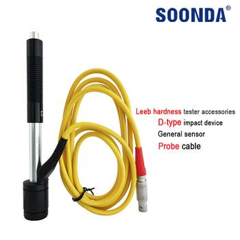 Ogólny czujnik przenośny Leeb twardościomierz akcesoria zastosuj do urządzenia udarowego typu D kabel sondy konfiguracja głowicy udarowej tanie i dobre opinie SOONDA CN (pochodzenie) hardness meter senor DIGITAL Soooda D-type Impact Device General Sensor Probe Cable Configuration