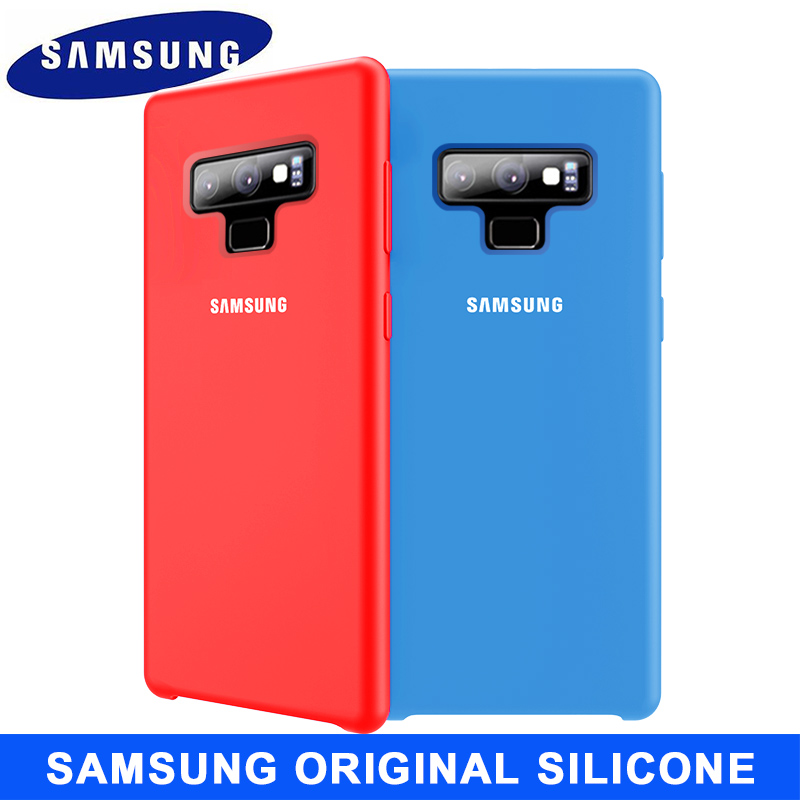 SAMSUNG Note 9 Case Original Soft Silicone Protector Case Samsung Galaxy Note 8 9 10 Plus 10+ 5G Silicon Cover Case