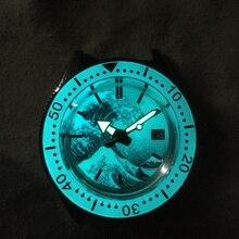 Tuna SBDC051/053 Men Automatic Watches Full Luminous Kanagaw