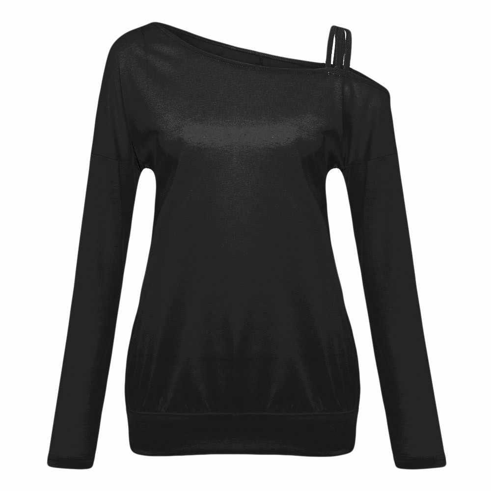 裾付きコールドトップス女性ソリッドカジュアルスタイリッシュなエレガントな camisetas mujer modis ropa mujer verano に 2020