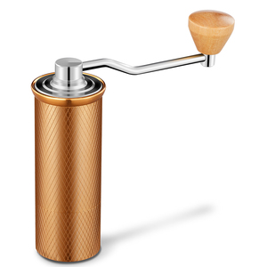 Image 5 - HAANZHALL 50 مللي متر دليل طاحونة القهوة الفولاذ المقاوم للصدأ لدغ طاحونة مخروطي القهوة الفول ميلر دليل آلة طحن القهوة