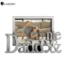 Personalized I Love Daddy Picture Frame - Fathers Day Gift New Dad Gift Photo Frame i love mommy 2 personalized ornament