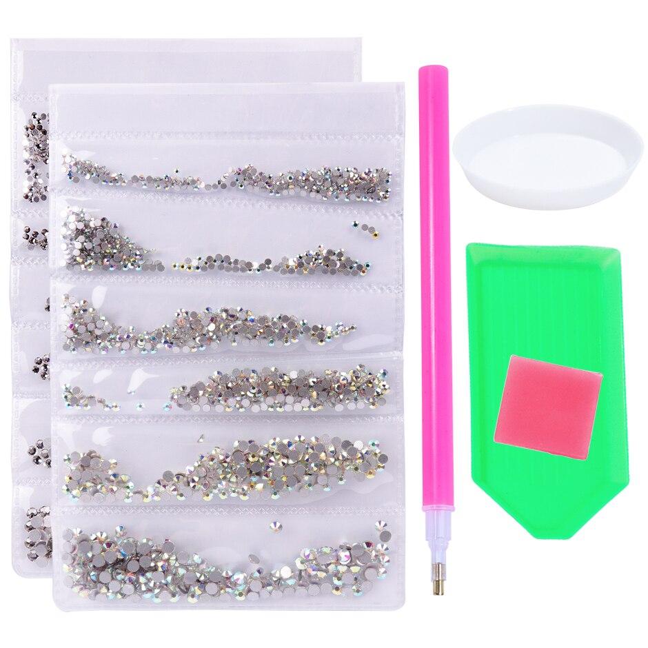 1 шт смешанный Кристалл страз Подвески Стразы на ногти Алмазный Набор Стекло Flatback блестящие камни Маникюр Аксессуары GL880