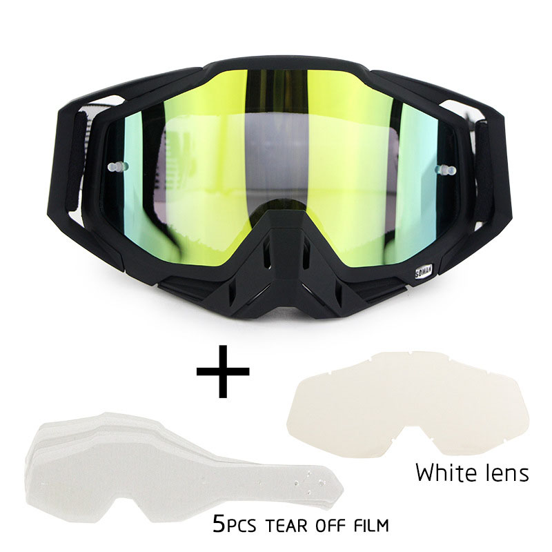 100% MX Dirt Bike Googles Motorcycle Goggles Glasses Dustproof Gafas Windproof ATV Motocross Glasses Sets