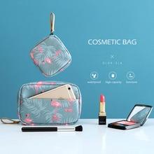 Portable Storage Bag Waterproof Travel Cosmetic Bag Women Fl