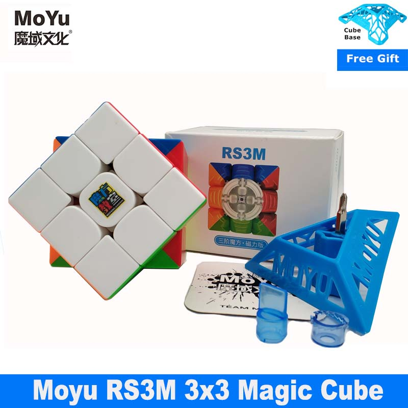 Puzzle Cube MF Magnet 3x3 Cubo 3x3x3-Speed Moyu RS3M Newest
