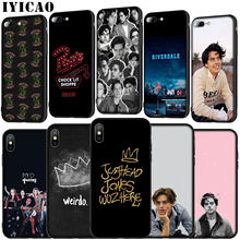 IYICAO Jughead Jones Riverdale Soft Silicone Cover Case for iPhone 11 Pro XR X XS Max 6 6S 7 8 Plus 5 5S SE Black TPU Phone Case(China)