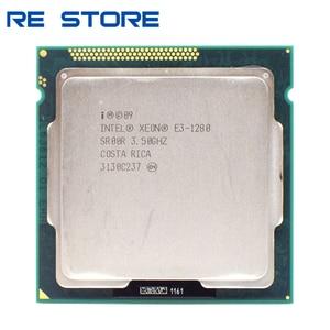 Image 1 - Gebruikt Intel Xeon E3 1280 3.5 Ghz SR00R Quad Core Lga 1155 Cpu Processor