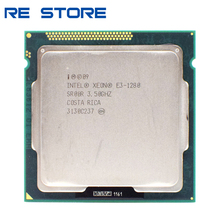 Usato Intel Xeon E3 1280 3.5GHz SR00R Quad Core LGA 1155 Processore CPU
