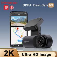 Traço cam invertendo câmera do carro dvr ddpai mola n3 dirve gravador de vídeo android vista dianteira do carro acidente dashboard câmera app wifi