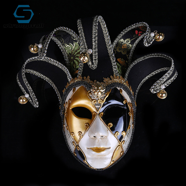 Strongwell Party Mask Venice Masks Party Supplies Masquerade Mask Christmas Halloween Venetian Costumes Carnival Anonymous Masks