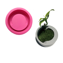 Round Ladder Flower Concrete Pot Mold DIY Succulent Flower Cement