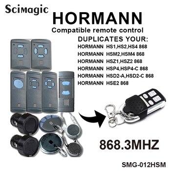 Клон 4 канала Hormann HSM4 868 МГц гаражные ворота открывалка для дверей Совместимость с Hormann HSM2 HSM4 868 МГц пульт дистанционного управления