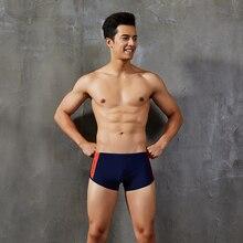 Underwear Leggings Beach Swimsuit Shorts Swim-Board Bottom Low-Waist Mens Male Patchwork