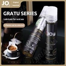 Sistema jo 30ml lubrificação oral gelato série hortelã chocolate lubrificante solúvel em água e fácil de limpar casal flertando óleo
