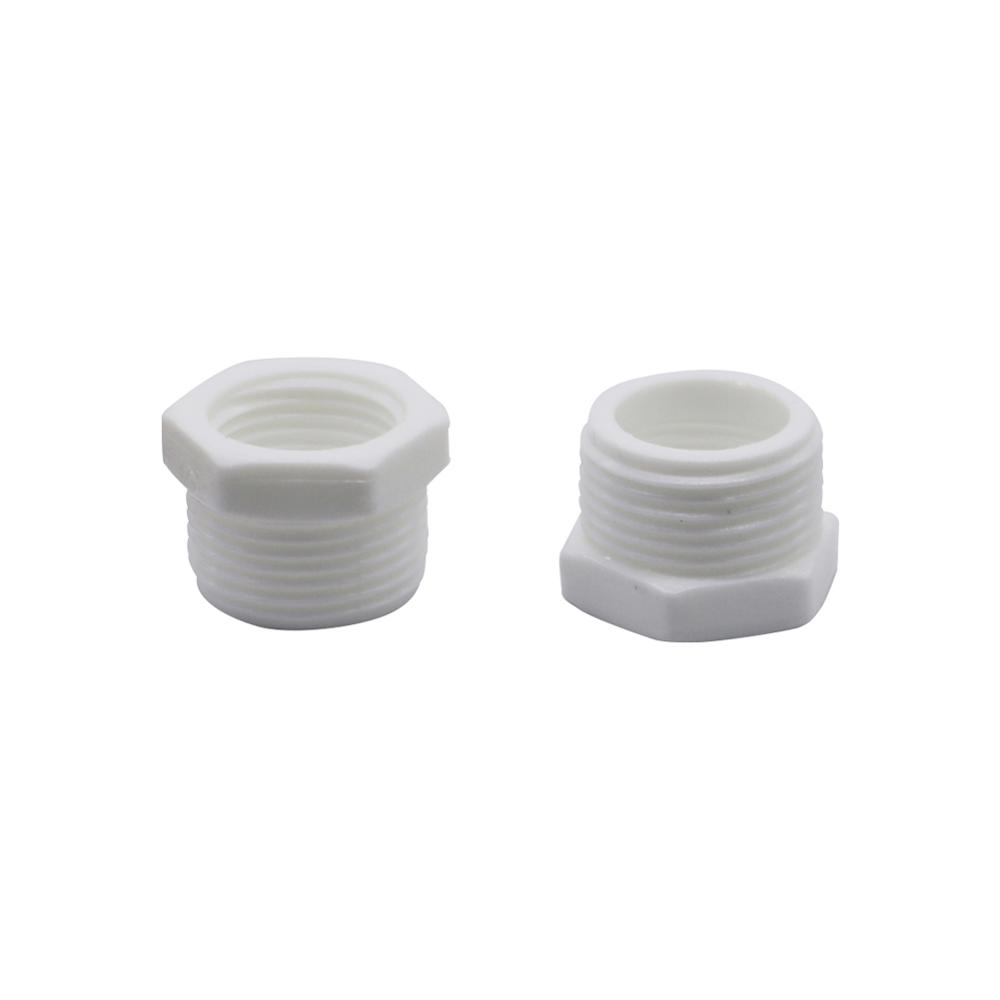 Plastic Hose Fittings Hex Reducer Bushing 1/2