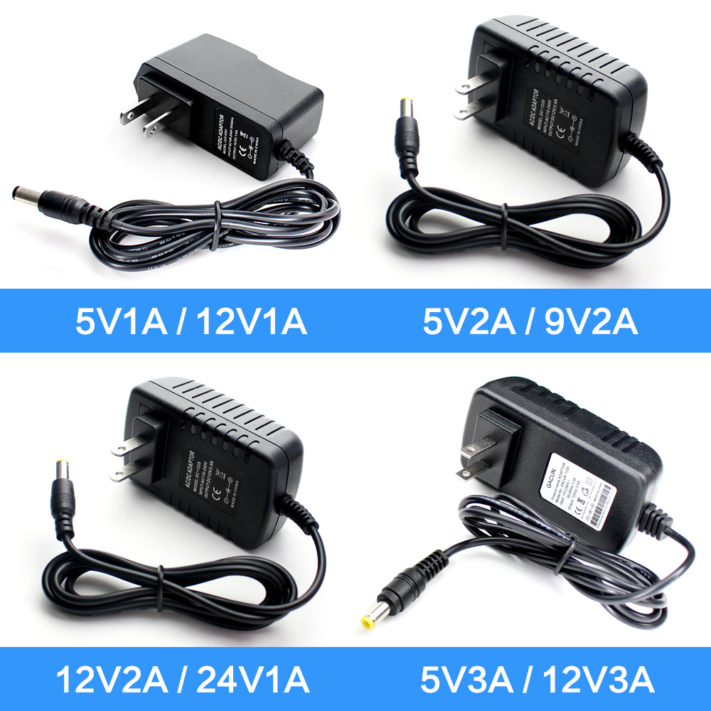 Universal Power <font><b>Adapter</b></font> <font><b>12V</b></font> 2A 220V Zu <font><b>12V</b></font> AC DC <font><b>Adapter</b></font> Hoverboard Ladegerät DC power versorgung 5v 2A 9V 3A 24V 1A LED Lampe Power image