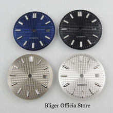 4 Models Nologo 30.9mm Watch Dial with Date Window Fit MIYOTA Automatic Movement(China)