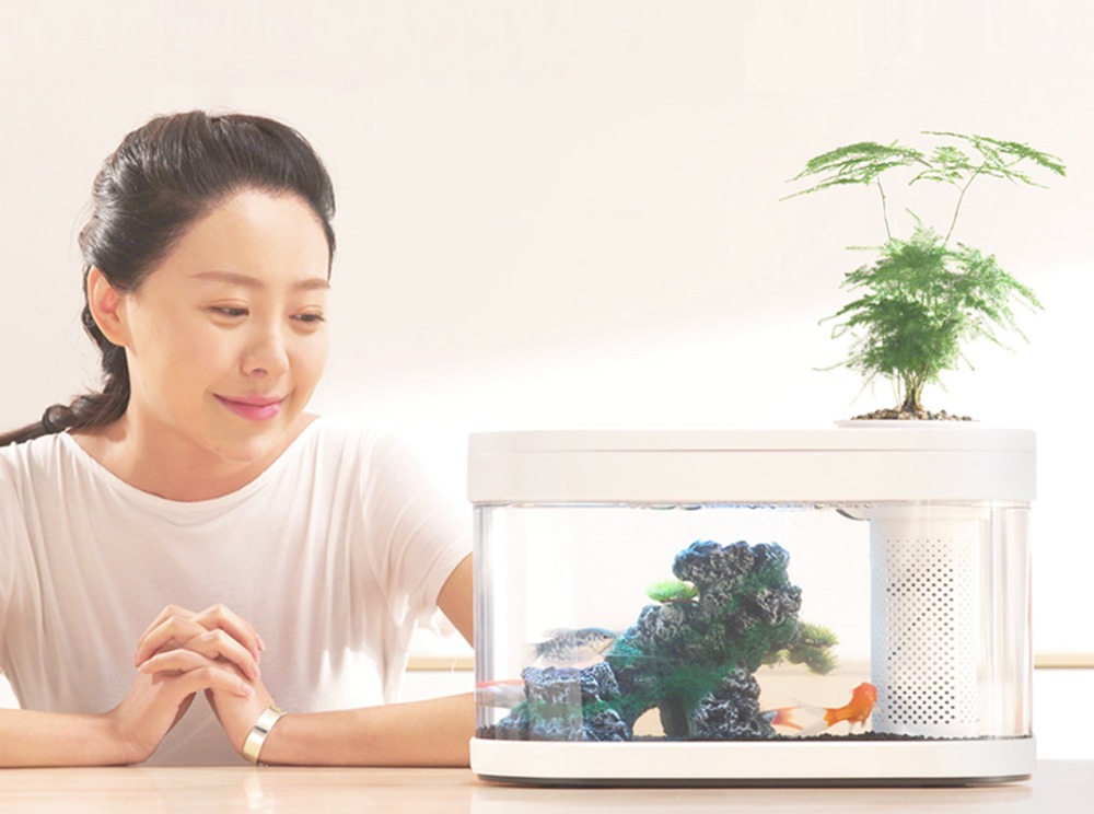 XIAOMI Geometry Fish Tank (12)