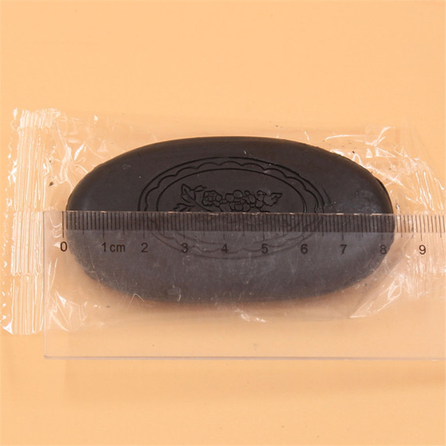 Bamboo Charcoal Soap 45g Removal Pimple Pore Acne Treatment Soap Cleaner Moisturizing Honey Soap Face Care Wash Basis Soap 4