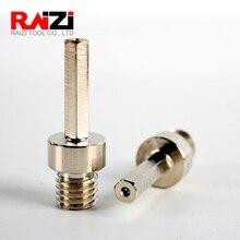 цена на Raizi 1Pc adapter male thread to 10 mm hexagonal shank For Diamond Core Drill Bits Power Drill Accessary