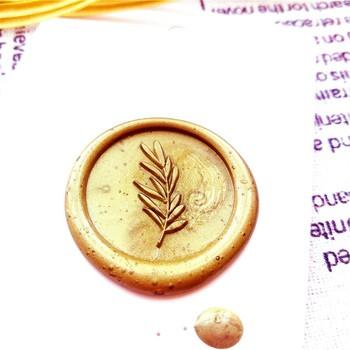Roślina pieczęć liść monstery kwiat pieczęć woskowa koperta pieczęć DIY pieczęć wosk pieczęć vintage niestandardowy projekt drewna uchwyt deco pieczęć tanie i dobre opinie XunMade seal wax Standardowy znaczek Metal Spersonalizowane motto