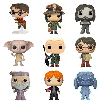 New Arrival Potter (On Broom) Moaning Myrtle Luna Hedwig Limited Edition Viny Action Figures Model Toys Children Christmas Gifts