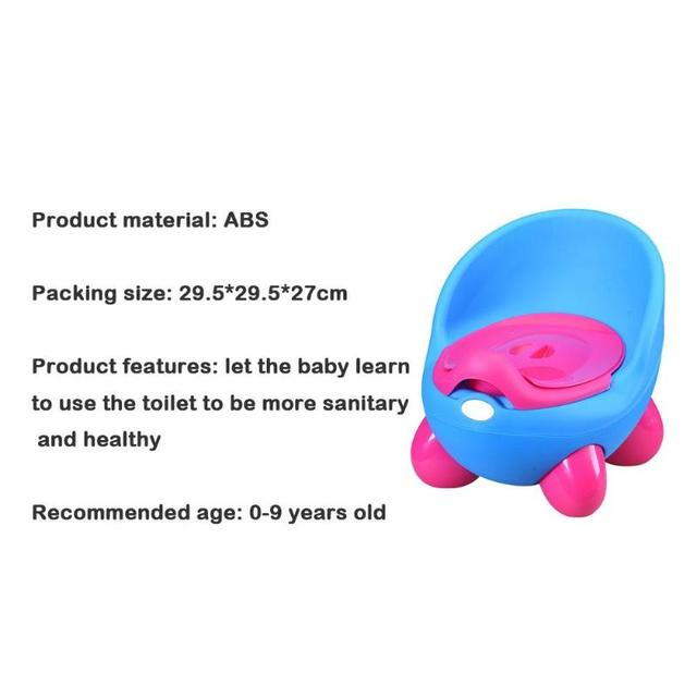 Children Potty Toilet Seat Ring Delicate Design Portable Practical Durable with Armrests Baby Infant Urinal Training Tools   Happy Baby Mama