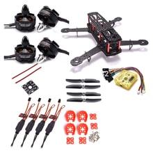 QAV250 controlador EVO CC3D de 250mm para Dron de carreras con visión en primera persona, Motor de 2300kv, 12A, Simonk, ESC